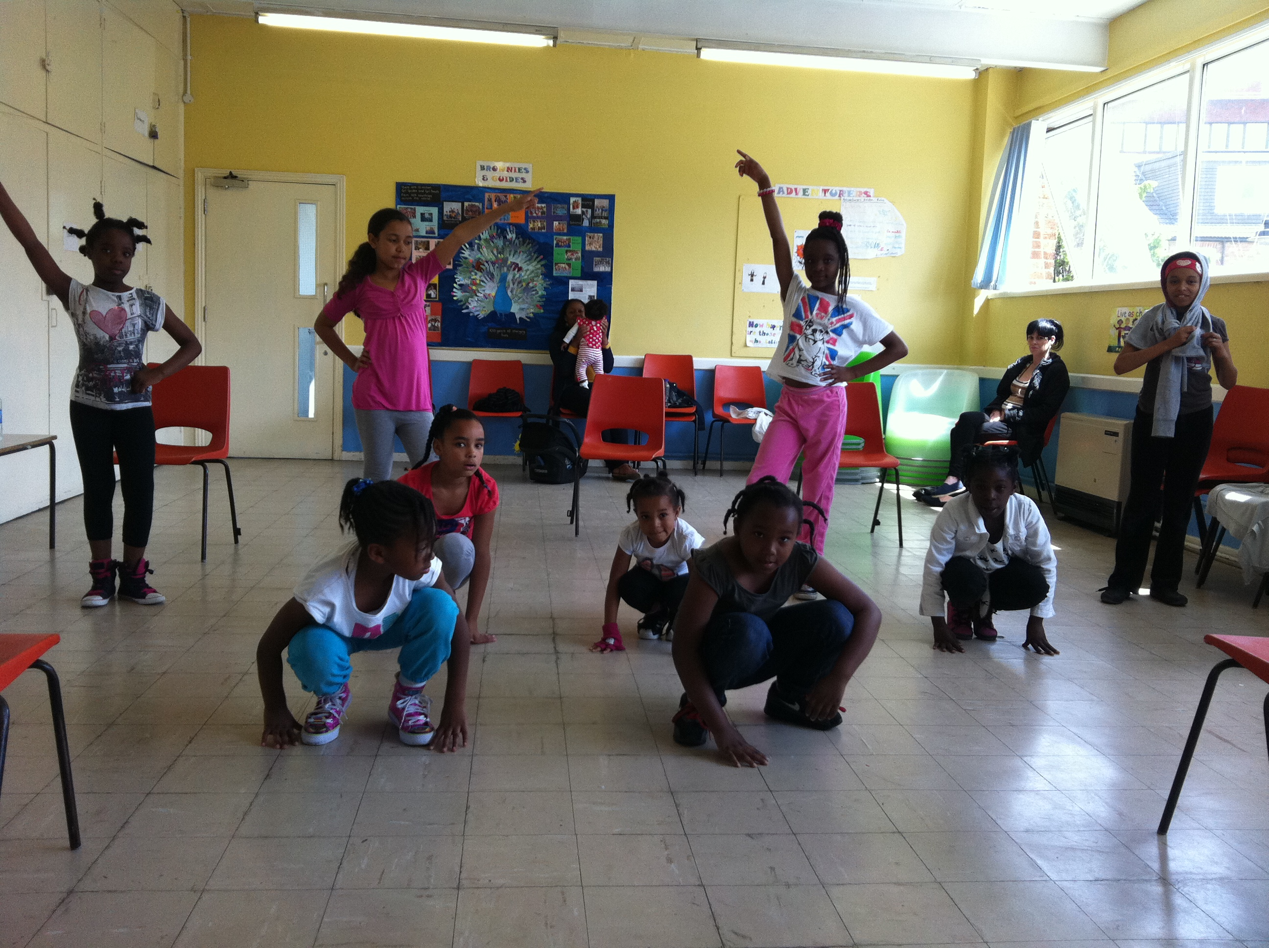 At the dance school 1